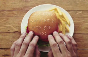 Wimpy Sesame Seed Braille Burgers