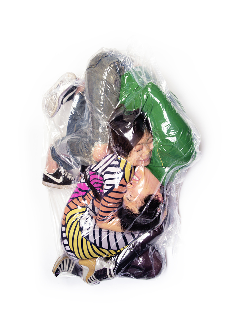 Flesh Love Is A Photoseries Of Couples Vacuum Sealed Together