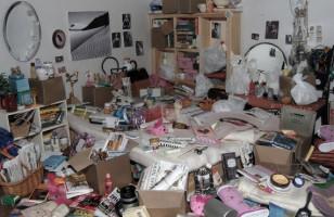 Hoarder Barbie's Dream House