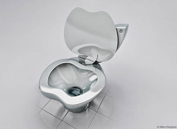 iPoo: A Toilet for Apple Fans