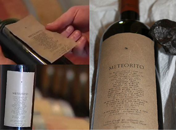 Meteorito, The First Meteorite-Aged Wine