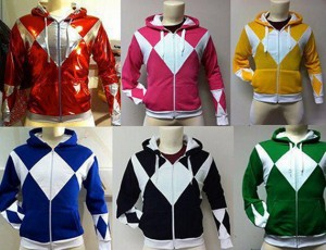 It's Morphin Time! Power Ranger Hoodie