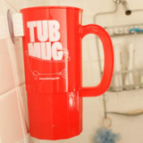 Tub Mug: Drinking In The Shower Made Easy