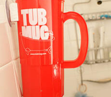 Drinking In The Shower Made Easy!: Tub Mug