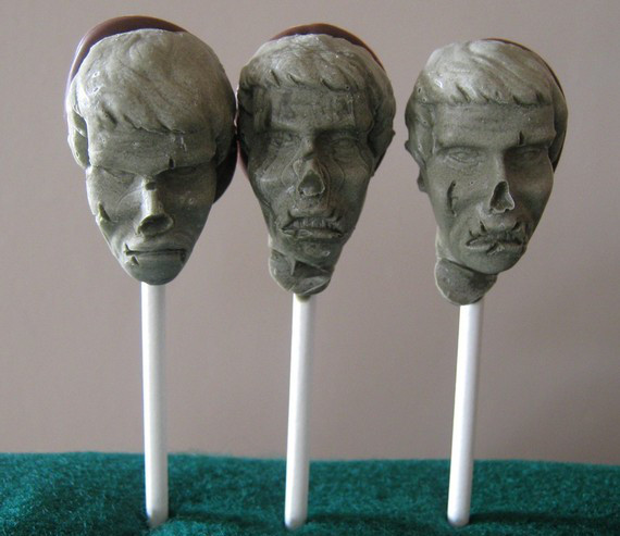 Undead Head On A Stick: Zombie Pops