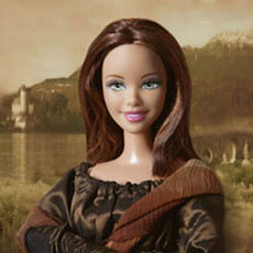 Barbie As Famous Works Of Art