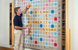 Quintuple Word Score: World's Largest Scrabble Game