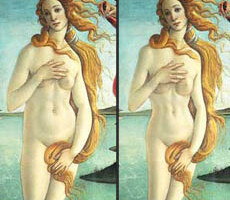 Classic Paintings Get Photoshopped