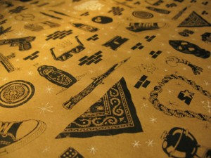 Gangster Wrap Gift Wrapping Paper