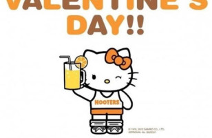 Hooters + Hello Kitty = Only In Japan
