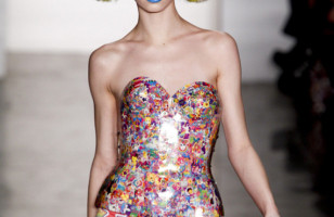 Trapper Keeper Fashion: Lisa Frank Corset