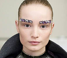 But… Why?: Bejeweled Eyebrows