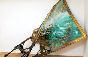 Destroyed Paintings Make You Appreciate Museums