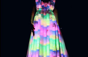 Mesmerizing: LED Dress