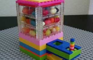 Build Your Own LEGO Candy Dispenser