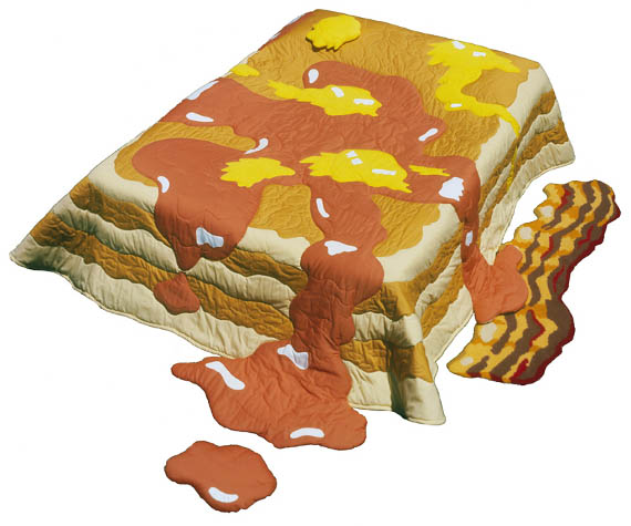 Breakfast In Bed: Pancake Quilt & Bacon Rug
