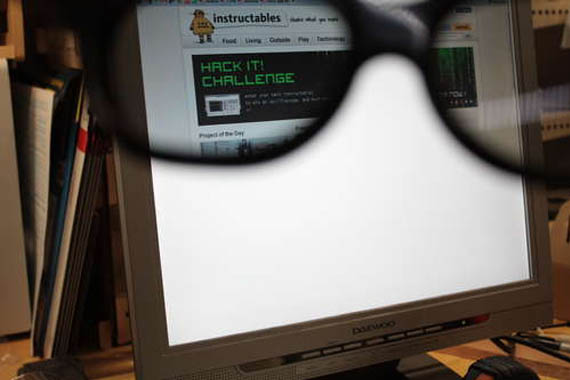 Create Your Own Privacy Monitor and Magic Glasses
