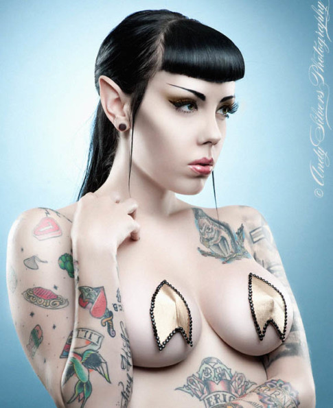 Star Trek Insignia Pasties