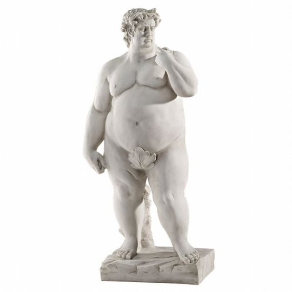 Fatty Fat Fat David Statue