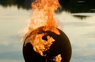 Burn It To The Ground!: Globe Fire Pit