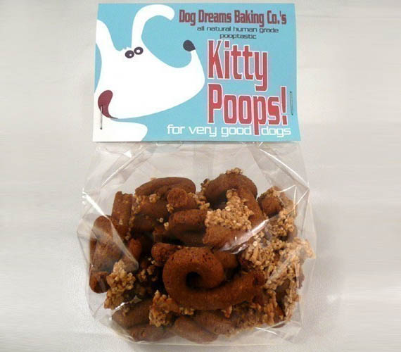 Good Dogs Eat Kitty Poops