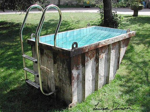 No Diving: Dumpster Pools