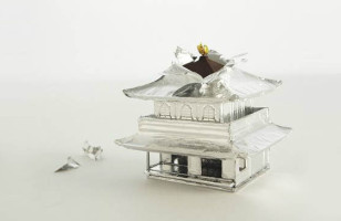 The Silver Pavilion Becomes The Chocolate Pavilion