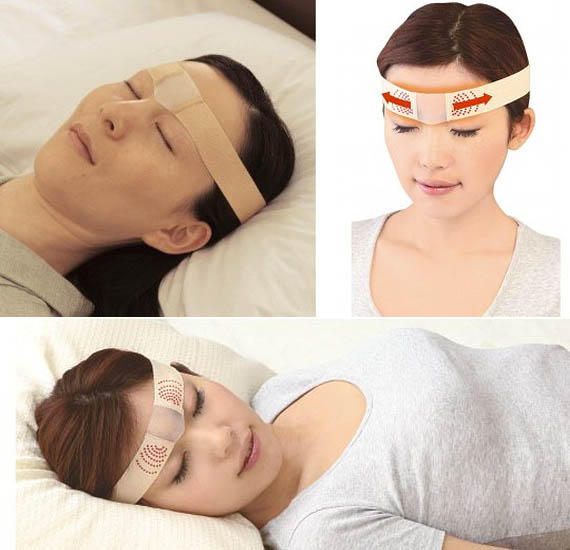 Say Goodnight To Wrinkles With The Brow Stretcher