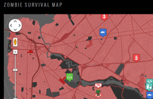 Map of the Dead: Zombie Survival Map