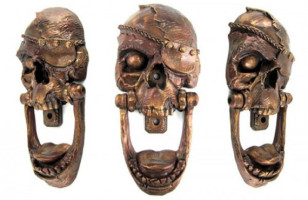 Pirate Skull Door Knocker