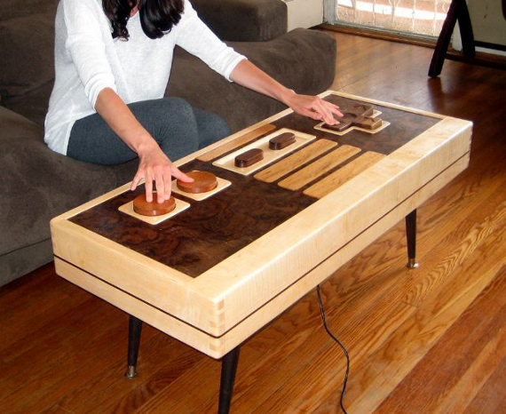 functional nintendo controller coffee table incredible