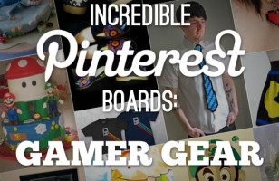 Incredible Pinterest Boards: Gamer Gear