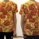 Photo-realistic Pizza Shirt