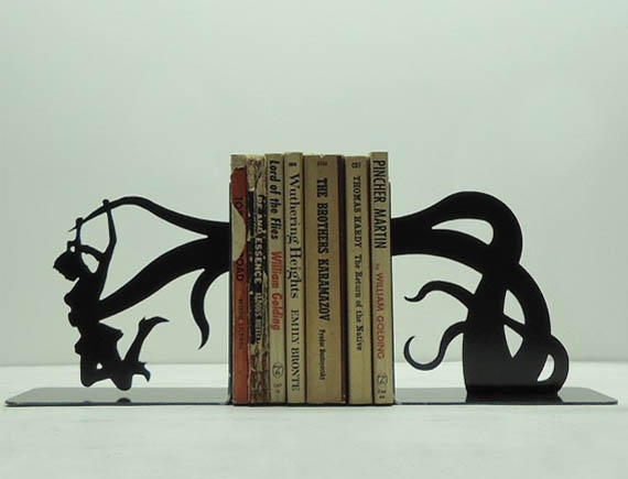 Bookends So Cool You'll Regret Getting A Kindle