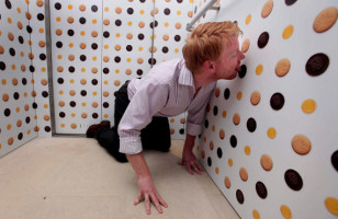 World's First Lick-able Wall Paper