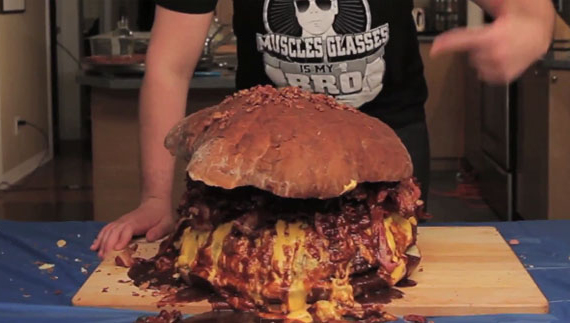This Is How I Want To Die: Bacon Boss Burger