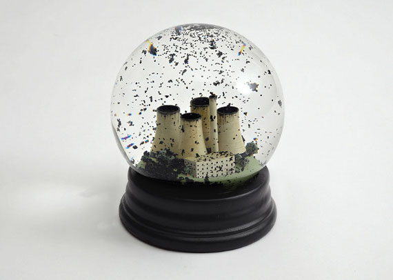 Pollution Ridden Snow Globe