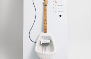 Make Your Own MPee3 With A Guitar Urinal