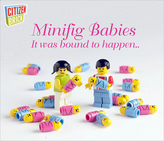 LEGO Minifig Babies & More!
