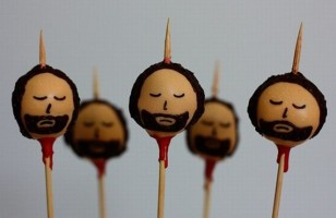 Cake of Thrones: Stark on a Stick