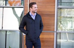 Look Classy But Feel Comfy in the Executive Pinstripe Hoodie