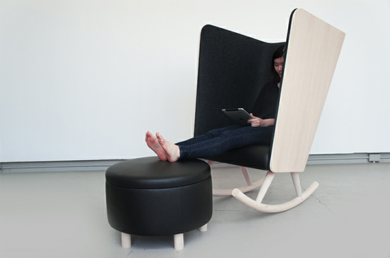 "The ""I CAN'T HEAR YOU"" Chair"