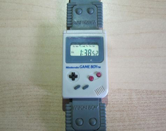 Game Boy + Watch - Games = Watch Boy