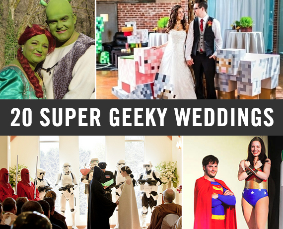 20 Super Geeky Weddings