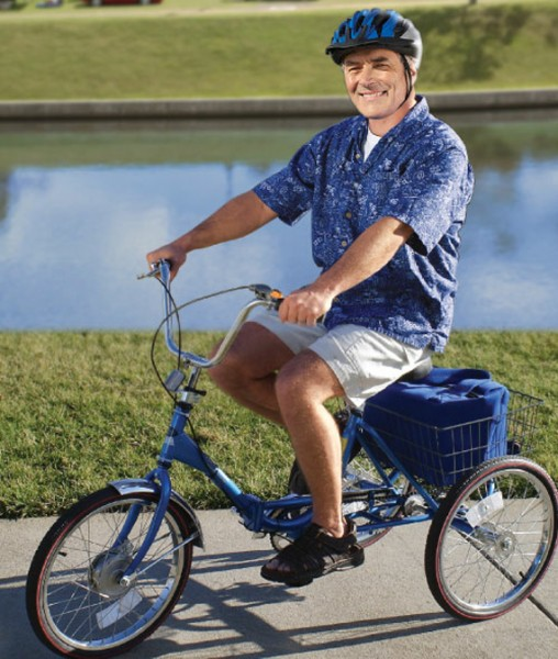 Now That You're Back In Diapers, Get An Adult Tricycle