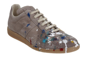 Overpriced: $500 Paint-Splattered Shoes