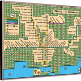 Super Mario 3 Toronto TTC Subway Map