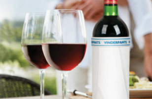 Vinderpants: Cover Your Glass With Underwear For Wine Bottles
