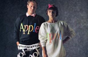 LOL IRL: Apple's Clothing Line Circa 1986