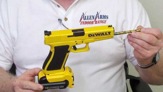 Dangerous: Glock Disguised As A Power Drill